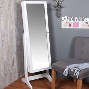 Floor Jewellery Mirror Cabinet