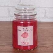 Warmer Candle Jar Fresh Strawberries