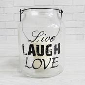 Live Laugh Love Lantern