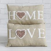 Home and Love with Cushions