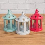 Mini Star Tea Light Lanterns 3 Assorted