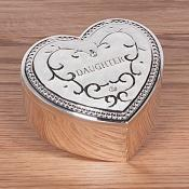 Daughter Trinket Box Cream