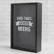 Good Times Good Beers Bottle Top Box
