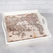 World Map Tray