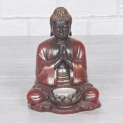 Buddha Praying T Light Holder