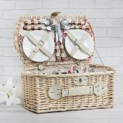 Red Floral Hamper 4 person