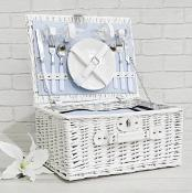 Light Blue 2 Person Hamper