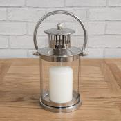 Chrome Lantern Small