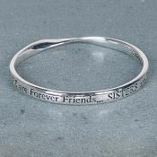 Sisters Forever Friends Bangle Gift