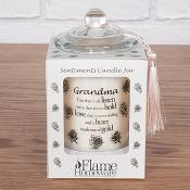 Sentiment Candle Jar - Grandma