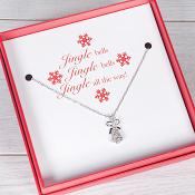 Jingle Bells - Boxed Bell Necklace