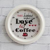 Home Runs on Love & Coffee Clock