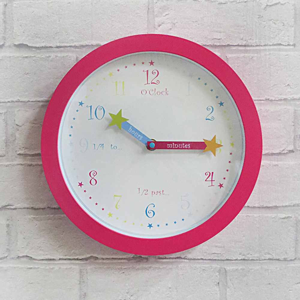 Star Kids Clock