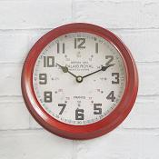 Palais Royale Clock Red