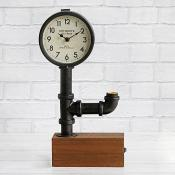 Steampunk Clock Black