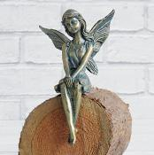 Angela Angel Shelf Bronze