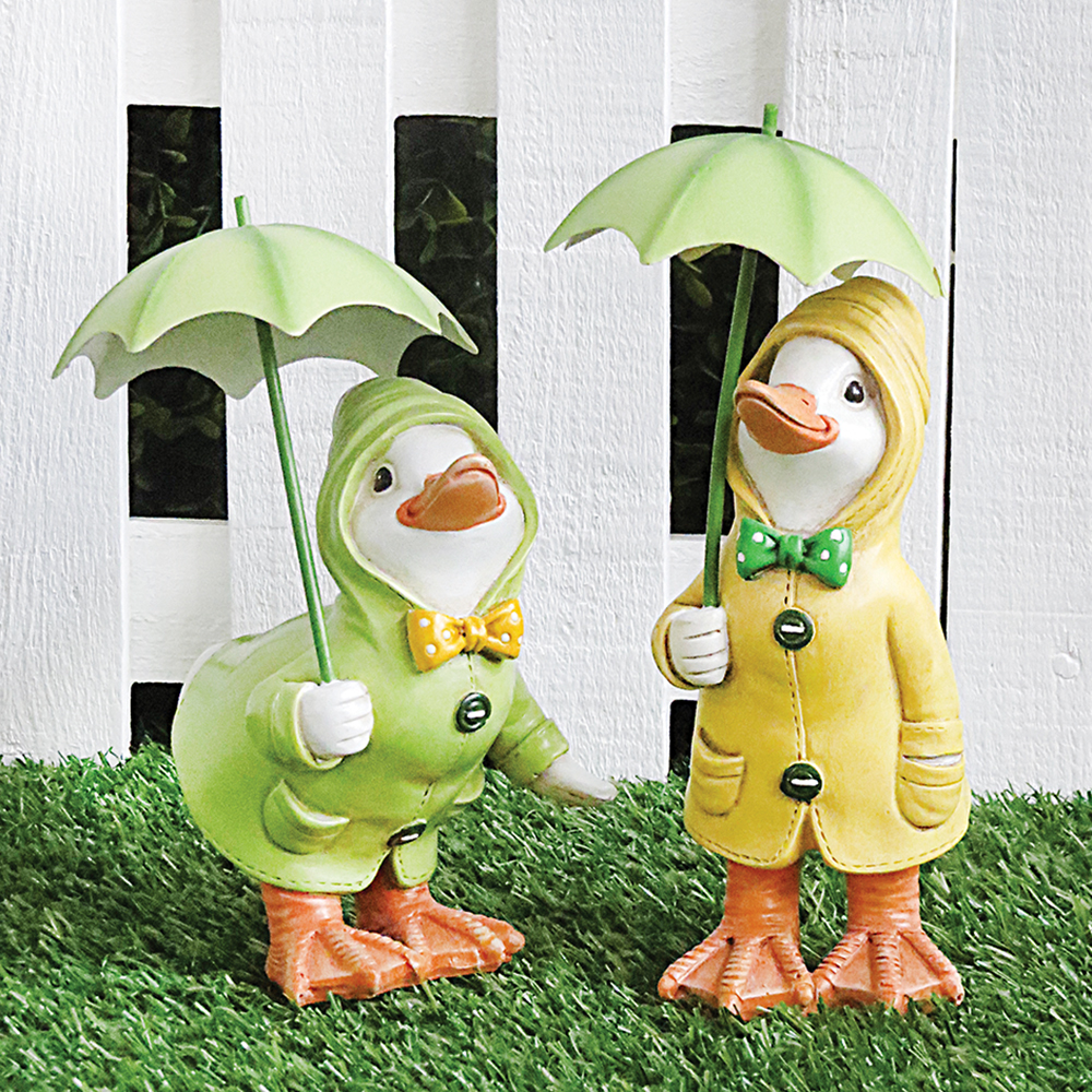 Dilly And Dally Raincoat Ducks S