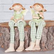 Gabby & Gloria Fairies Shelf Sitters Set of Two