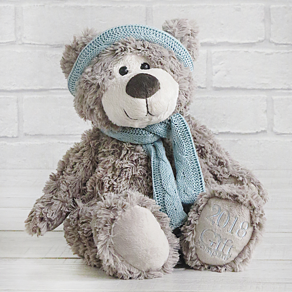 Bertie Bear  He is the new Gift Company bear for 2018