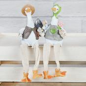 Mr And Mrs Duckworth Shelf Sitters
