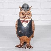 Owl In Bowler Hat