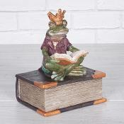 Sitting Frog Reading