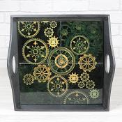 Cog Design Tray