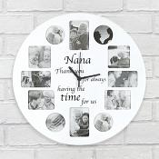 Nana Clock Photo Frame
