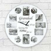 Grandad Clock Photo Frame