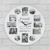 Friends Clock Photo Frame