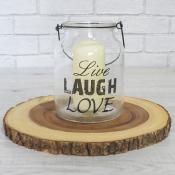 Live Laugh Love Lantern Small