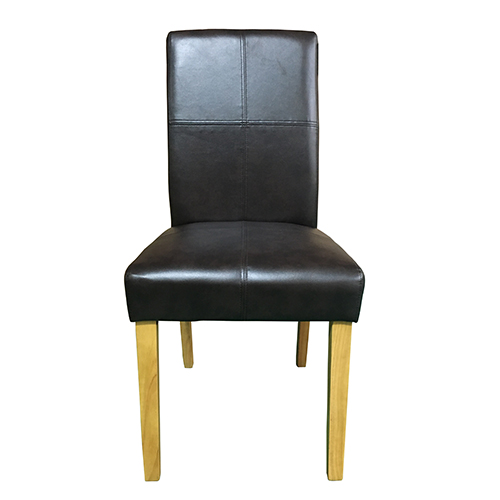 Faux Leather Chair Inset