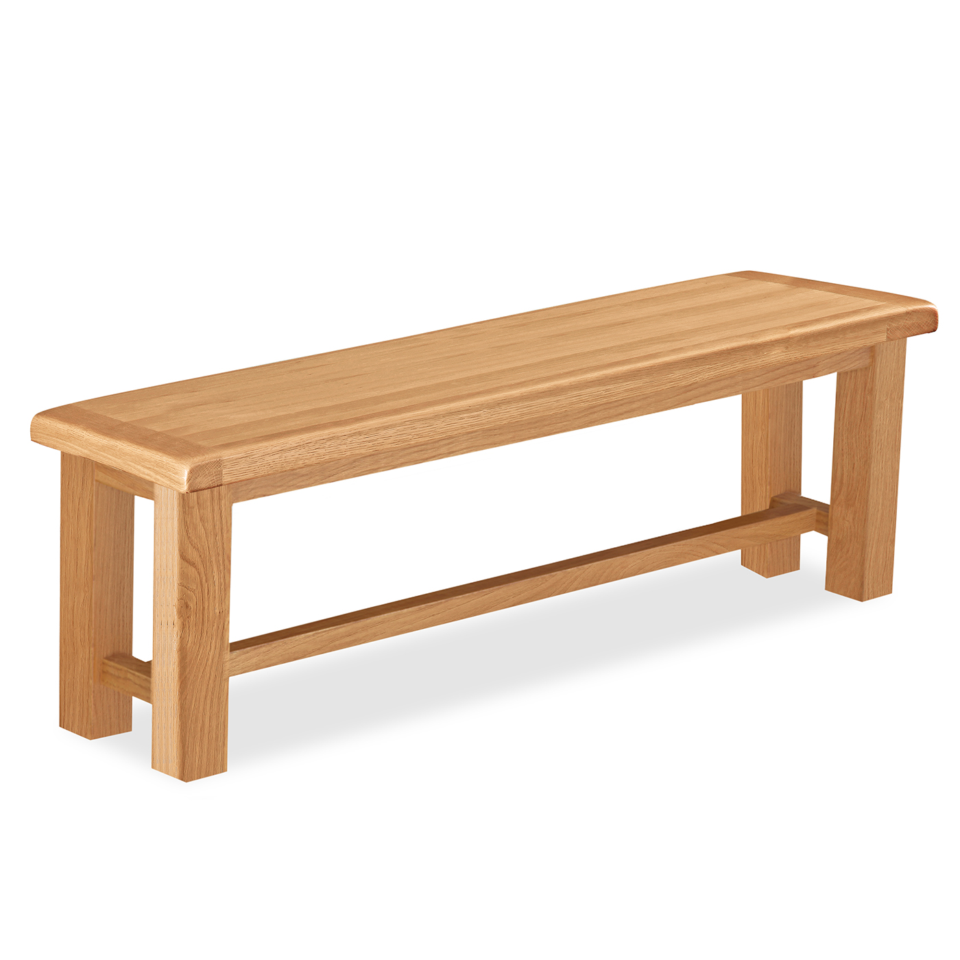 Salisbury Oak Furniture Small Bench